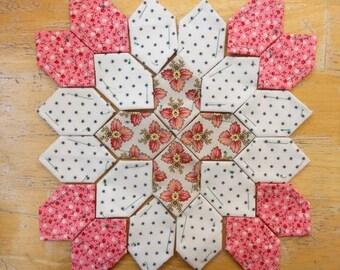 Lucy Boston Patchwork of the Crosses civil war block kit #1