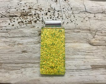 Jewelry, Dichroic glass, pendant, necklace, Dichroic Glass Pendant, Fused Glass Jewelry, handmade dichroic glass, glass pendant, glass