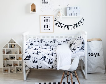 Baby Bedding, Boy Crib Bedding, Boy Bedding, Kids Bedding, Toddler Bedding, Bedding Set, Duvet Cover, Toddler Duvet Cover, Crib Bedding