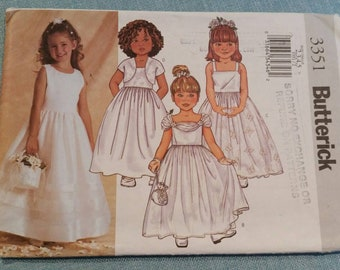 Butterick 3351 childrens/girls jacket and dress