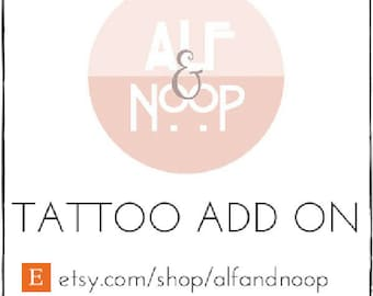 Add On for Temporary Tattoo