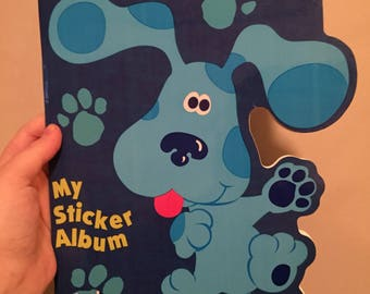 Blues clues sticker book