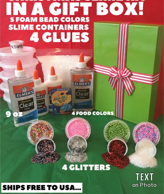 CRUNCHY SLIME KIT foam beads