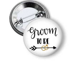 Groom to Be Pin, Bachelor Party, Team Groom, LGBTQ Wedding, I Do Crew, Bachelor Weekend, Groom Buttons, Guys Last Weekend, Bachelor Favors