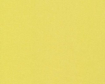 GOTS Organic cotton fabric 2 Yards flannel - Cloud 9 - citron - champange - gold - chartreuse