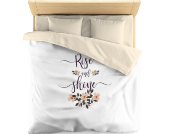 Rise and Shine, Duvet Cover, bedroom decor