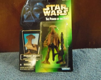 Star Wars Power of the Force Momaw Nadone 1990's Kenner