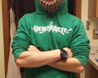 Adult Beard Hat - YOU PICK COLORS