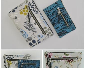 Devon zipper pouch, diy, pouch patterns, pdf pattern, instant download, two sizes, dopp kit, toiletry bag, make up, pencil, bag, coin pouch
