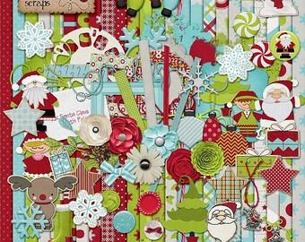 Christmas Time - Digital Scrapbooking Kit