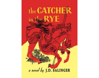 Canvas Art Print - The Catcher in the Rye (J.D.Salinger)