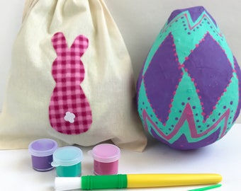 Easter Crafts for Kids - Easter Craft Kit - Paint Your Own Mini Pinata -DIY Kids Craft Kits - Activity Kits for Kids - Easter Gifts for Kids