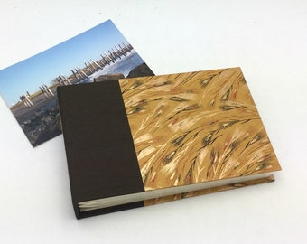 4x6 Mini Photo Album with Sleeves Black and Gold / In Stock