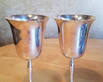 Goblet Chalice Renaissance Set of 2 India