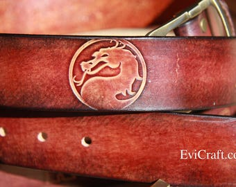 Personalised belt, Gift for men, hand tooled leather belt, groom gift, wedding gift, father's day, custom made gift plus size belt