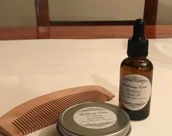 Woodsman Beard Kit