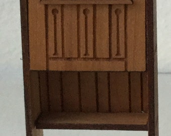 "Dollhouse Miniature  Desk in 1/2"" scale"