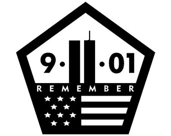 Remember 9/11 Car Decal