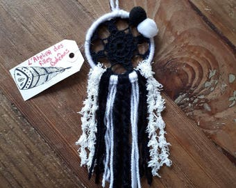 Black and white Dreamcatcher