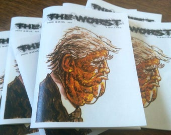The Worst - anti-Trump art zine