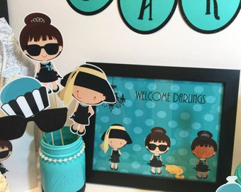 Breakfast At Tiffany's Inspired Welcome Sign
