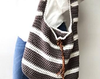 CROCHET PATTERN, The Adrian Bag , Crochet Pattern, Easy Bag Pattern, Crochet  Pattern,  Summer Bag Pattern
