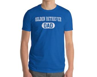 Golden Retriever DAD Shirt, Dog Dad Shirt, Dog Lover Shirt, Golden Retriever Gift