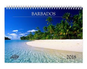Barbados  2018 Wall Calendar