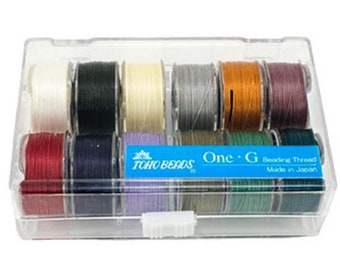 TOHO One-G Faden Kit 12 Farben in Box