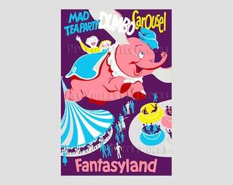 Dumbo Cross Stitch, Disney Vintage Disney Poster, Disney Cross Stitch, Dumbo, Dumbo Pattern by New York by NewYorkNeedleworks on Etsy