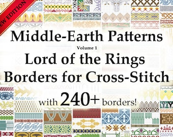 Middle-Earth Patterns - Lord of the Rings Borders for Cross-Stitch