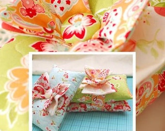 Butterfly Bows Pincushion Sewing Pattern The Pattern Basket #TPB-1604