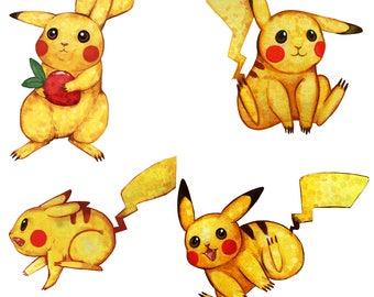 Precious Pikachu Sticker Pack