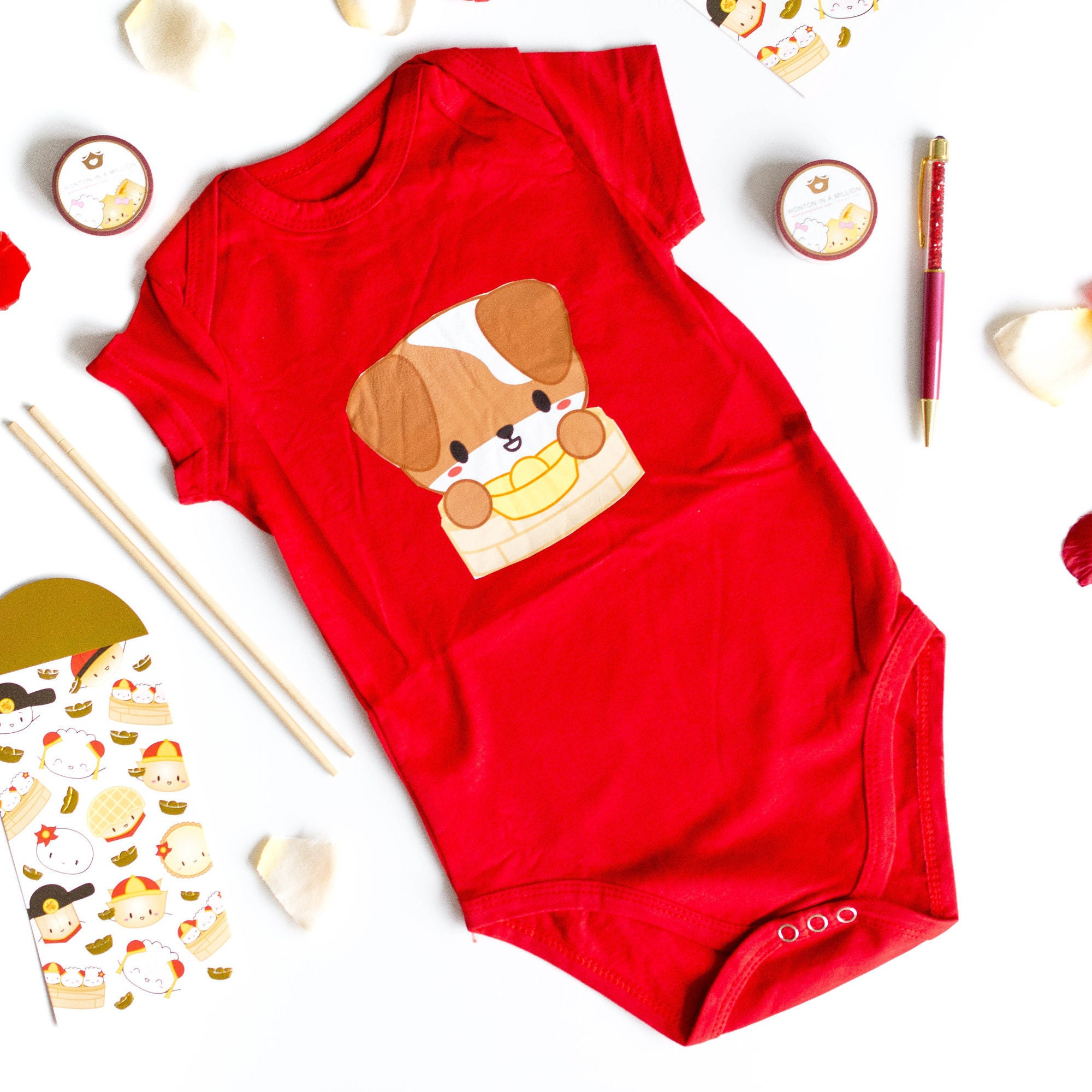 OOPS ONESIE Year The Doggie Chinese New