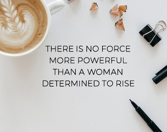 Girl Power Quote Print