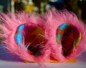 Faux Fur funky Fun Ears | Hair Clips for any fun occasion!
