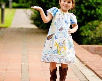 Peasant Dress Pattern PDF - 4 sleeve options