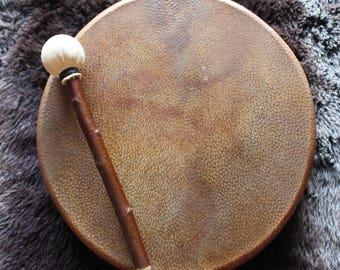 """15"""" Wild Boar skin drum"""