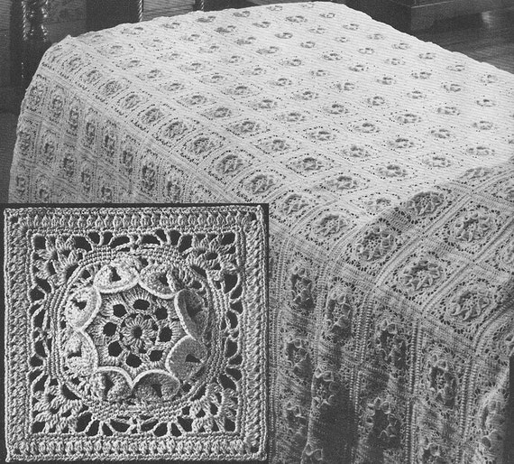 Crochet Queen Bedspread