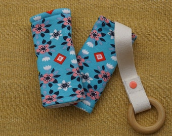 Southwest Flowers Organic Baby Carrier Teething Pads. Drool Pads. Baby Wearing. Protective Pads. Teething Pads. Ergo. Boba. Beco. Lillebaby.