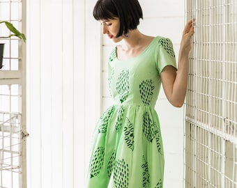 Banksia Dress - Handmade by Alice