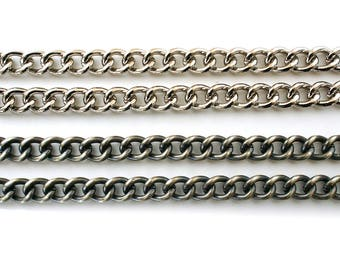 Chain handle for your Red Ruby Rose clutch bag, choice of finish and length
