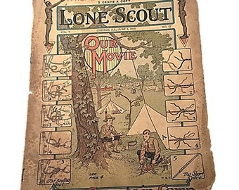 The Real Boys Magazine |  Our Scouts in Camp |  Lone Scout |  Our Movie June 3 1916 |  PET   Teen
