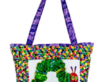 Diaper Bag, Very Hungry Caterpillar, Baby Shower Gift, Baby Bag, Girl Diaper Bag, Boy Diaper Bag, New Mother Gift, Unique Baby Gift