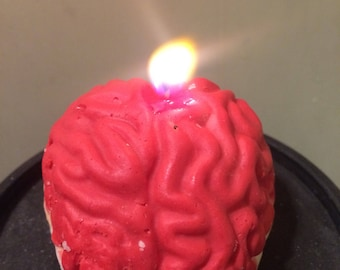 Penny for Your Thoughts brain candle- Cold Snap (winter scent) soy candle