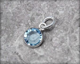 BIRTHSTONE ADD ON - swarovski crystal charm, birthstone, month birthstone