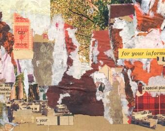 Fyi - original collage