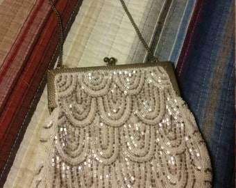 Beautifuly Beaded Antique Purse