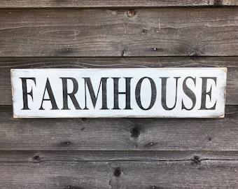 farmhouse sign, farmhouse decor, primitive home decor, rustic home decor, hand painted wood sign, kitchen decor, farmhouse kitchen , signs