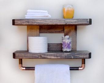 Towel Shelf, Towel Rack Bathroom
